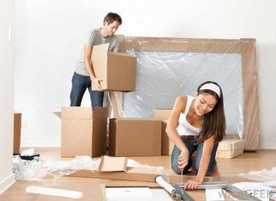 average NJ house moving time