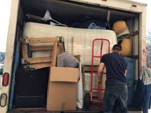 Vector Movers in action, loading the truck and getting everything ready for the journey ahead.