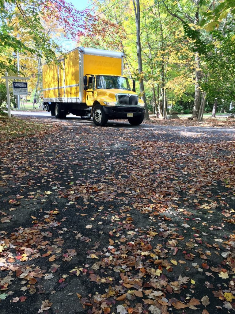 Vector Movers NJ truck - always on time and where you need it to be.