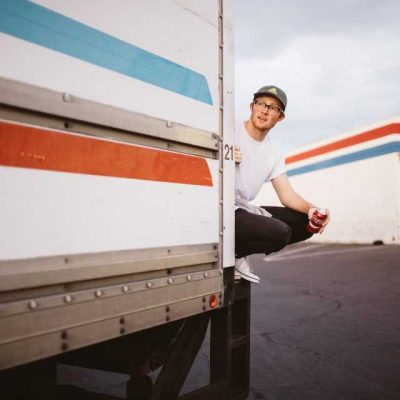 Guy enting a moving truck is great when you rent from a reliable moving company