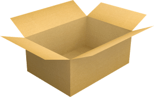 A portable storage container can easily replace a cardboard box.