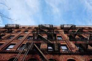 Apartment building in Hoboken